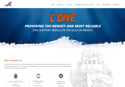 image for New Site: C-Dive