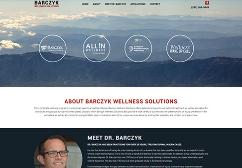 image for New Site: Barczyk Wellness Solutions